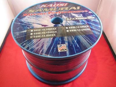 Sumaria, Quality Blue 14 GAUGE, 14 AWG SPEAKER WIRE, 25 Ft