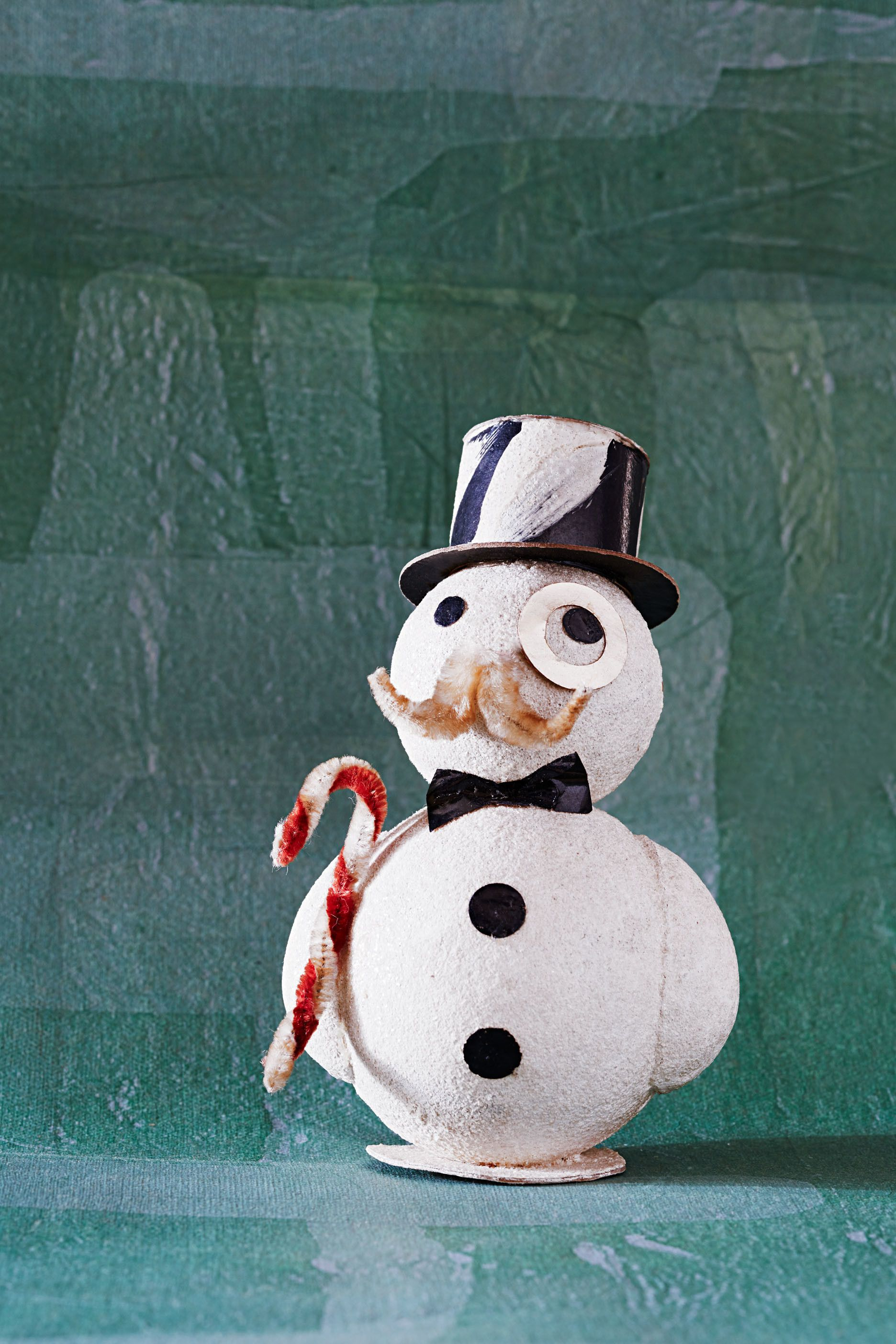 These vintage Christmas ornaments tell a rich story of