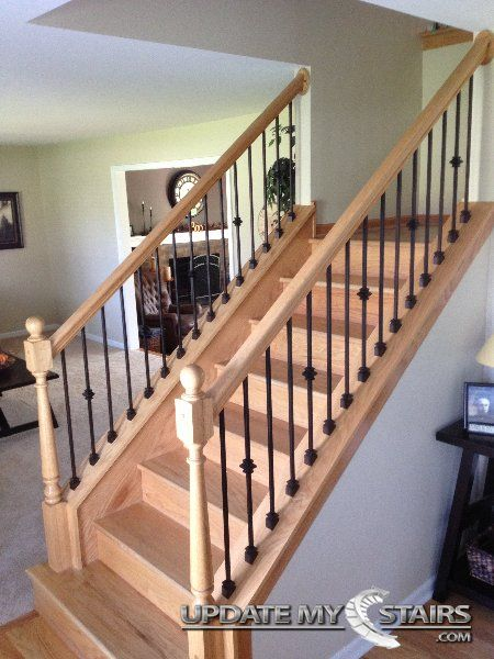 Single And Plain Versatile Baers Installed By Update My Stairs Inc