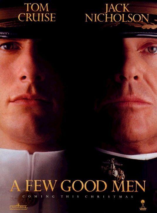 A Few Good Men Movie Poster Internet Movie Poster Awards Gallery Best Man Movie Best Tom Cruise Movies Tom Cruise Movies