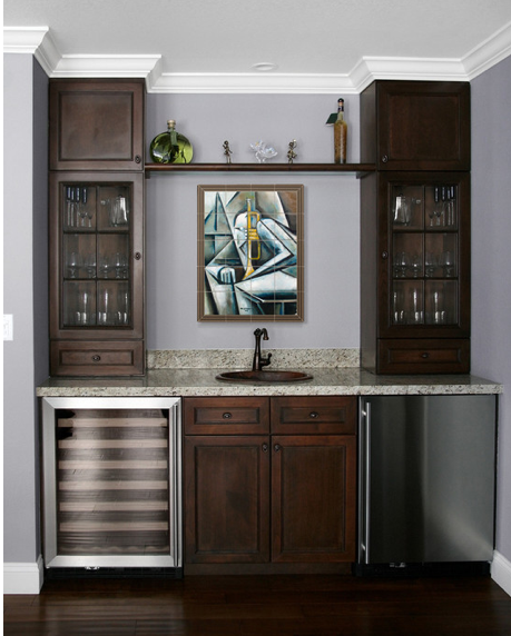 Basement Minibar Home Wet Bar Bars For Home Home Remodeling