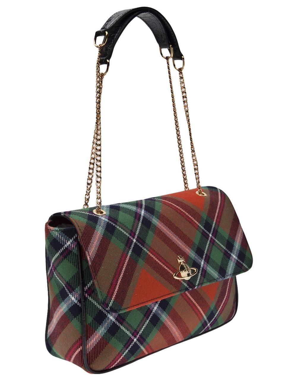 e6fee86372 Winter Tartan' bag Vivienne Westwood | Plaid | Bags, Tartan ...