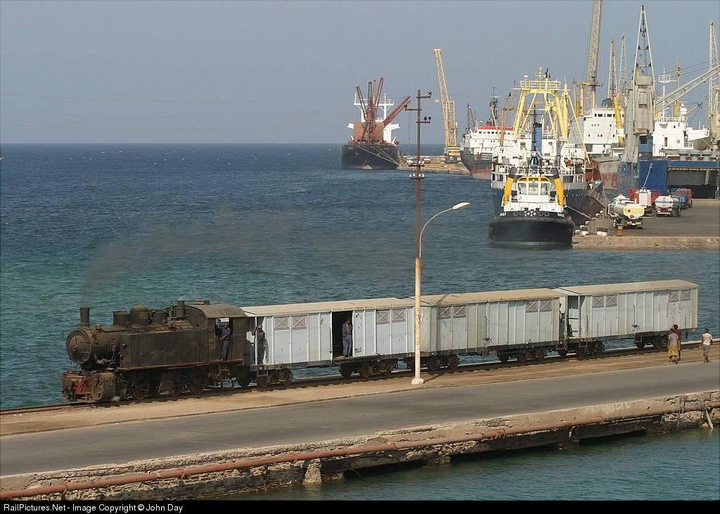 RailPictures.Net Photo: 442-54 Eritrean Railways 0-4-4-0T at Massawa, Eritrea by John Day