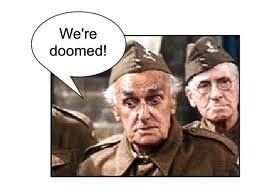 Private Frazer. We're doomed!! | Dad's army, Teaching math, Dads