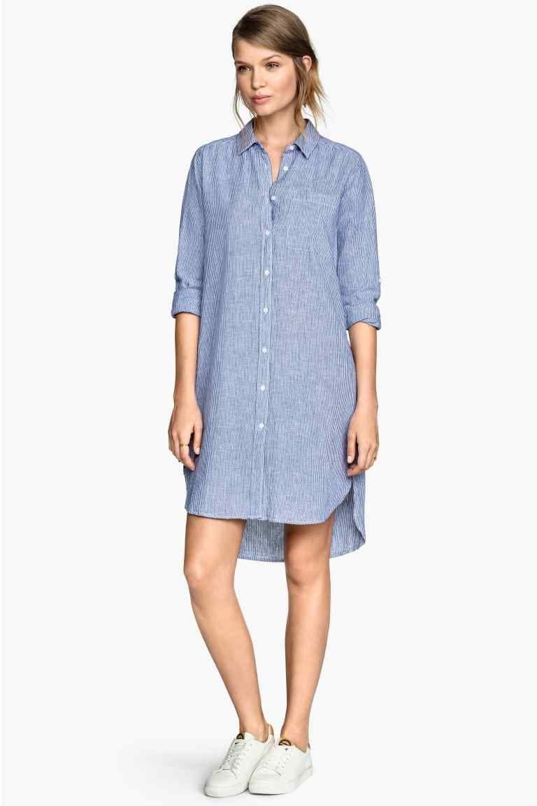 Camisa comprida | H&M