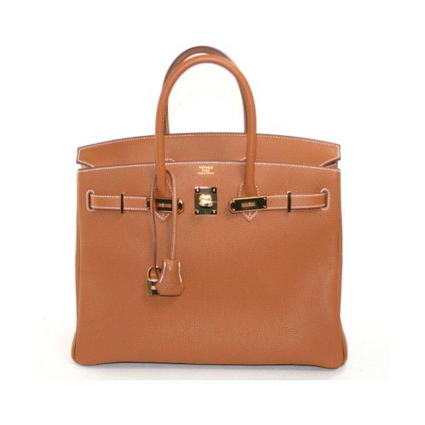 Pre-Owned Hermes Gold Togo Birkin Bag- 35 cm GHW (21 ac4b1efda