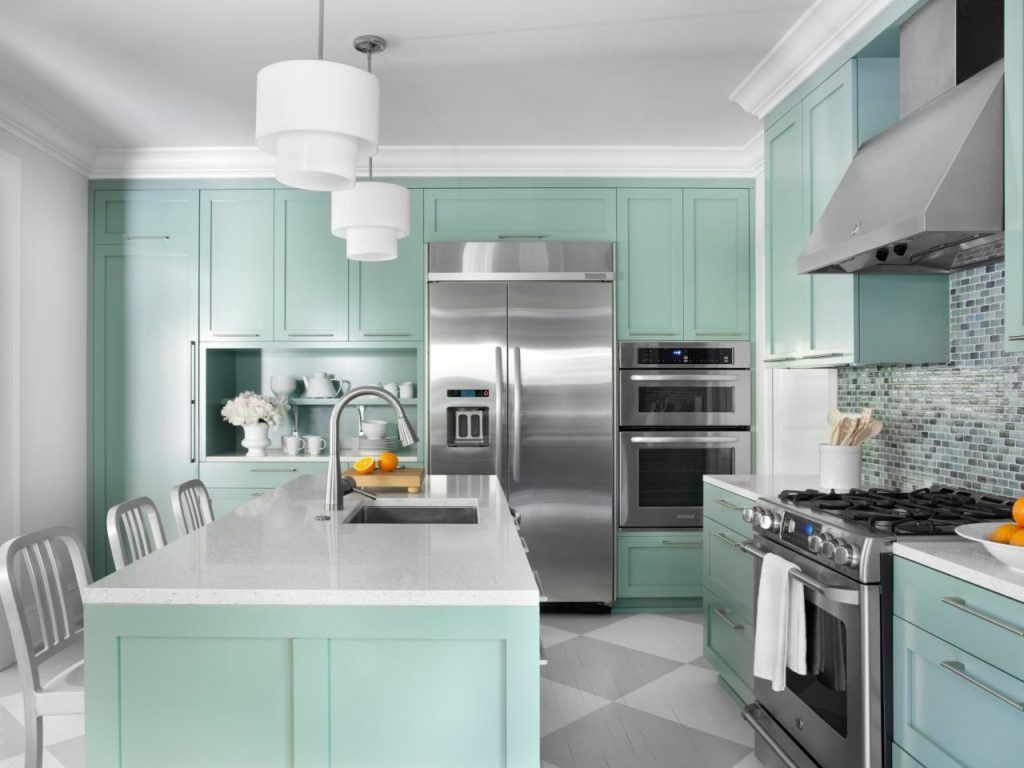 Repainting your cabinets is an easy & affordable kitchen makeover ...