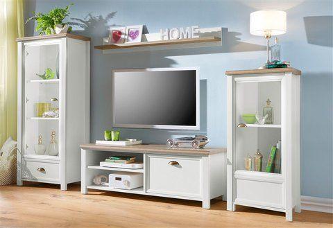 Home affaire Wohnwand »Carmen« (4tlg) kaufen ✓ Kauf auf Raten - wohnzimmer in weiss braun