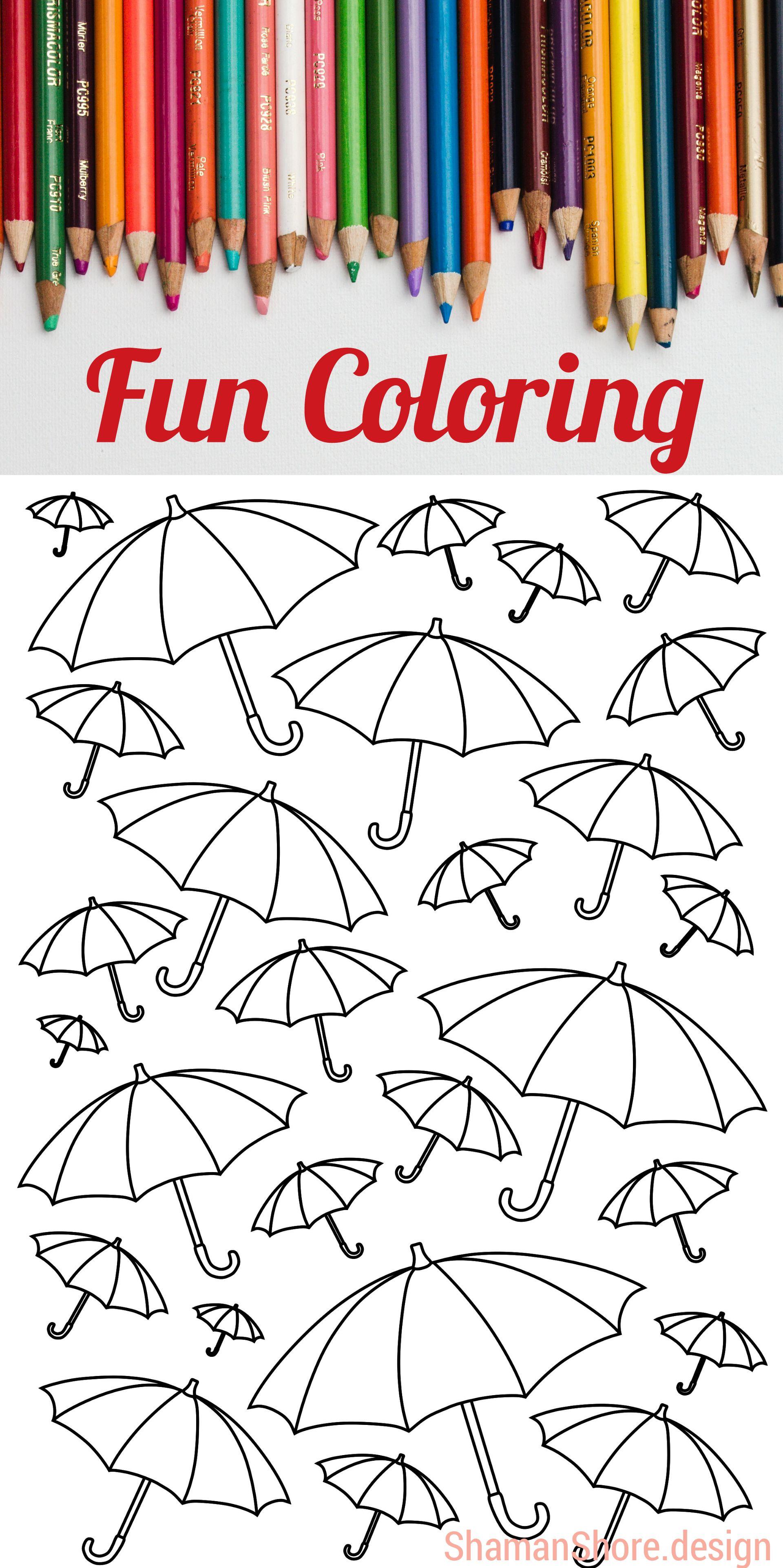 Digital Coloring Book Pdf Printable Coloring Pages Download Etsy Printable Coloring Pages Coloring Pages Easy Coloring Pages