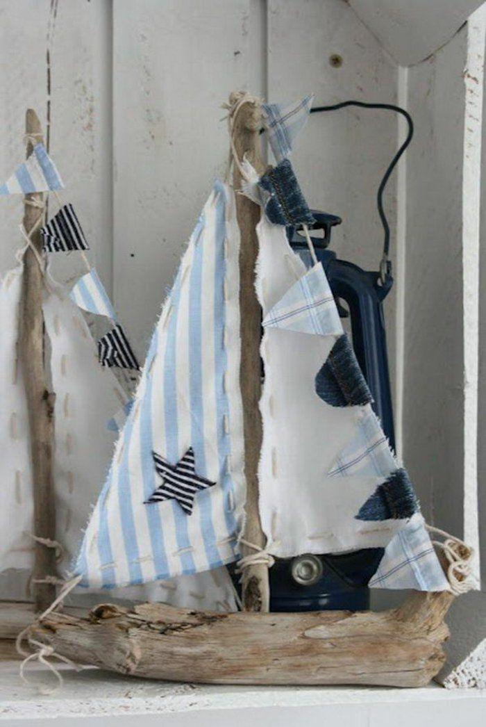 Treibholz Bastelideen treibholz deko sorgt für eine einmalige und natürliche
