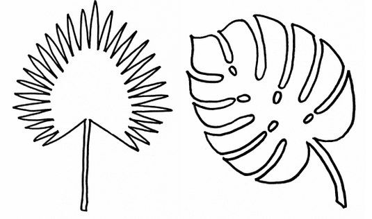 Moldes para hacer hojas de arboles en papel ideas de - Papel para dibujar ...