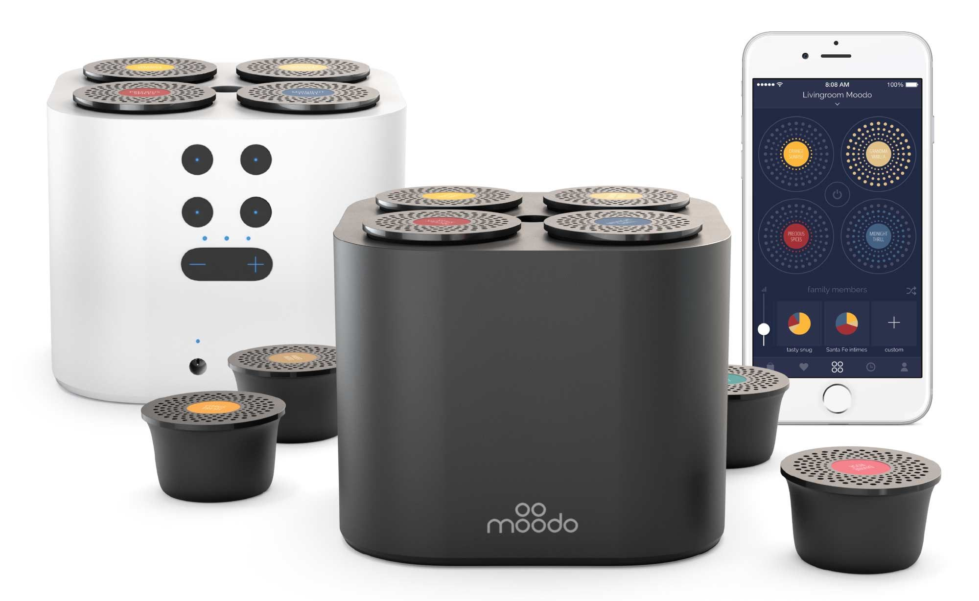 Smart Home Aroma Fragrance Diffuser Moodo Scent Machine