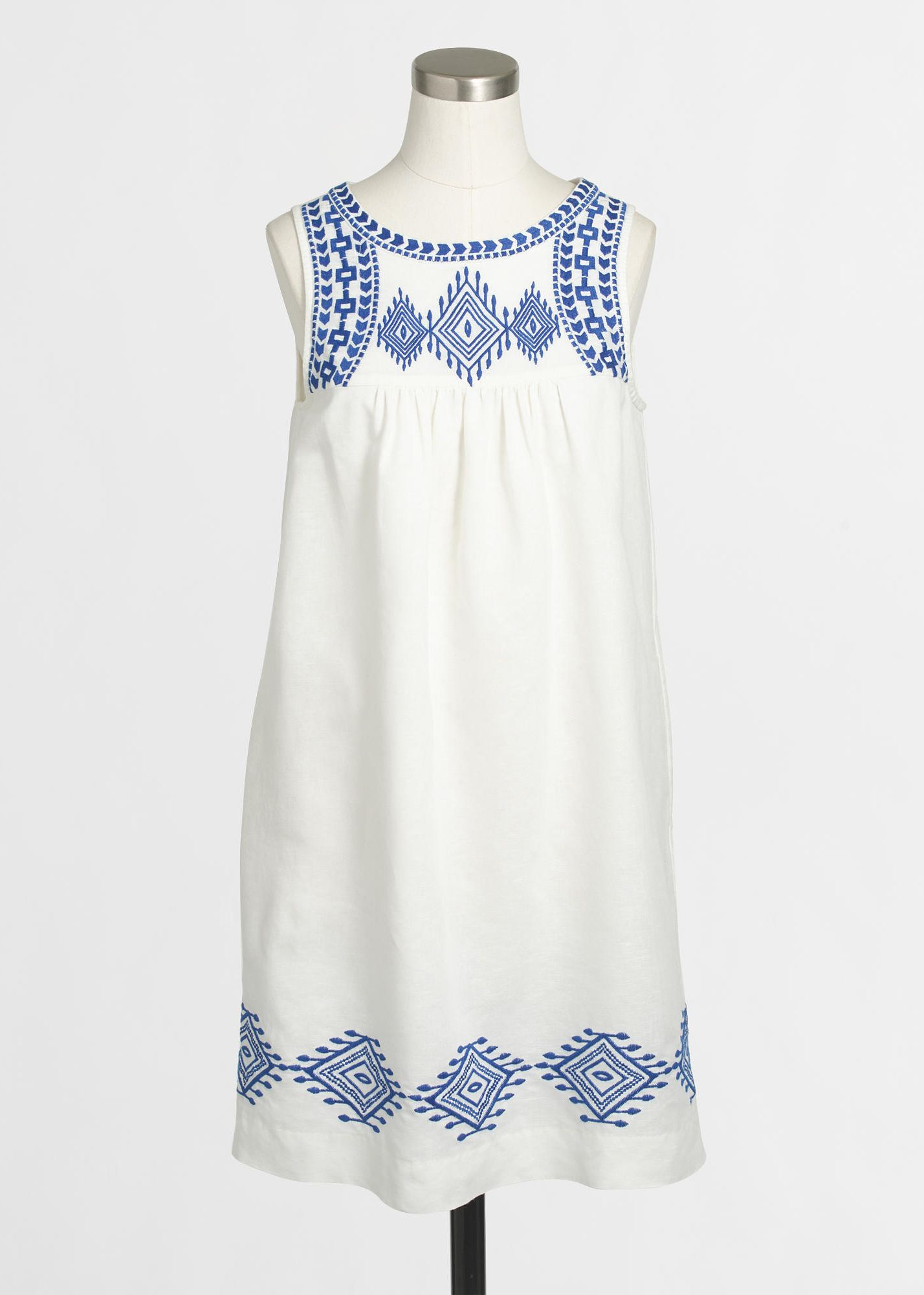 49290a91ee6ec j.crew factory embroidered dress