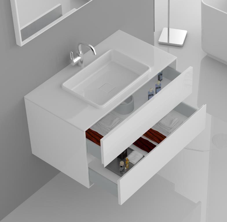 Kzoao Polystone Vanity 900mm Bathroom Bathroom Accessories Vanity