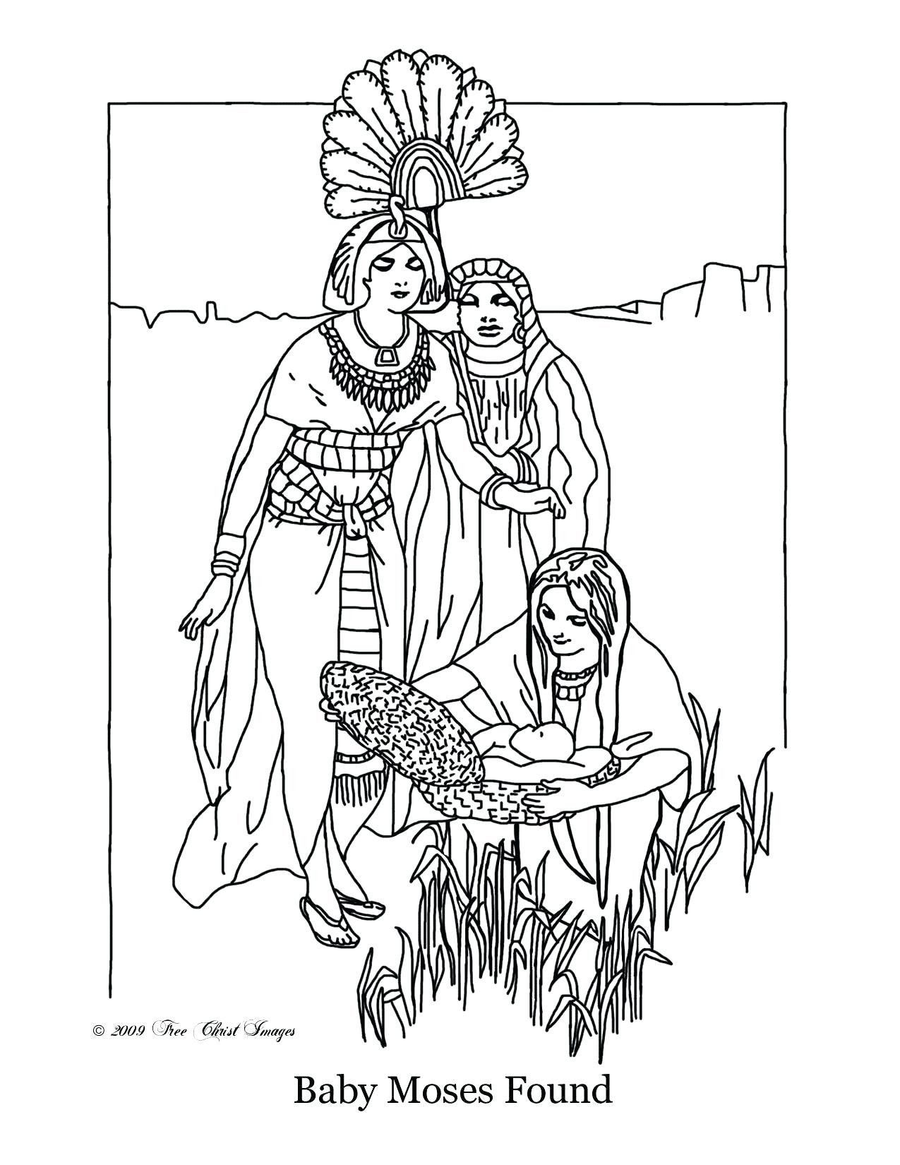 Baby Moses Coloring Page Awesome Free Christian Coloring Pages Moses Navajosheet