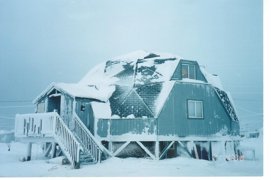 получили дом для арктики фото снимает камеру