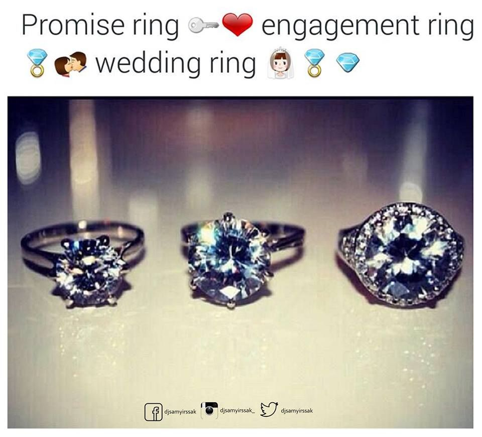 Promise Ring Engagement Ring Wedding Ring Every kind of Ring