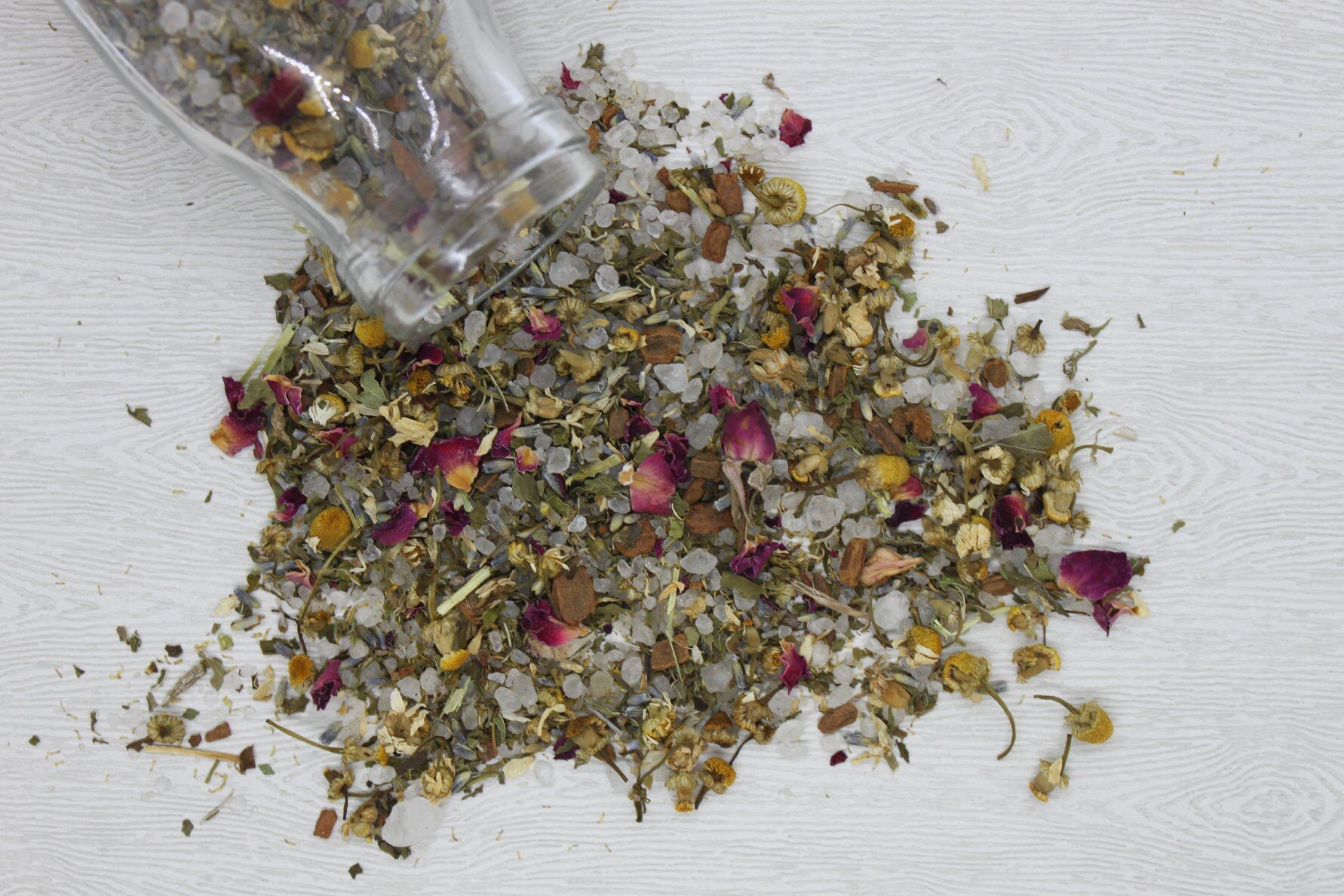 Transcendent Herbals Tranquility Tub Tea Dried Lavender Flowers Chamomile Flowers Tea Gift Sets