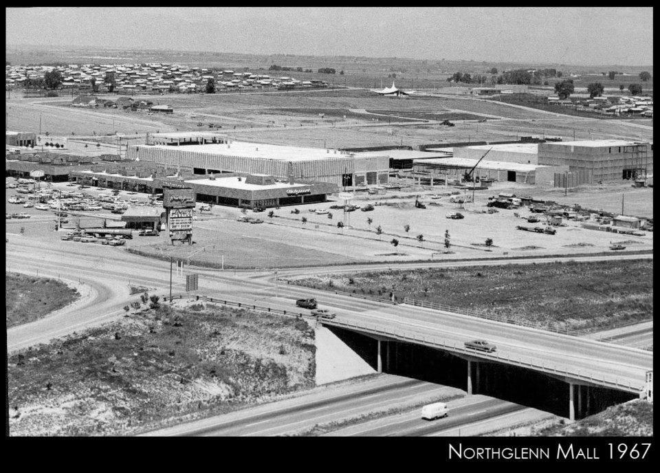 Northglenn Mall 1967 Construction Photo Denver History Colorado Native Colorado Homes