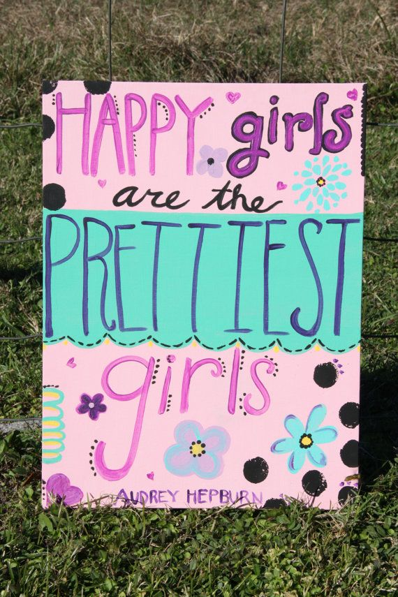 Happy Girls by 2paperpackages on Etsy, $12.00