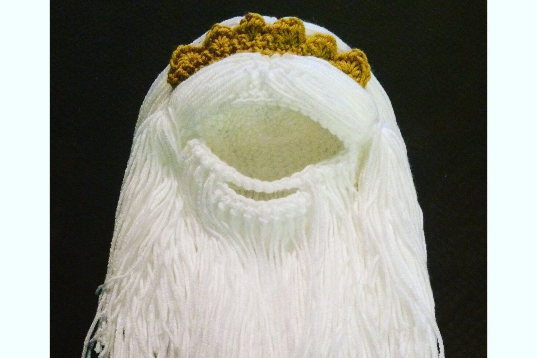 CHILD SIZE Little Mermaid King Triton Beard Hat