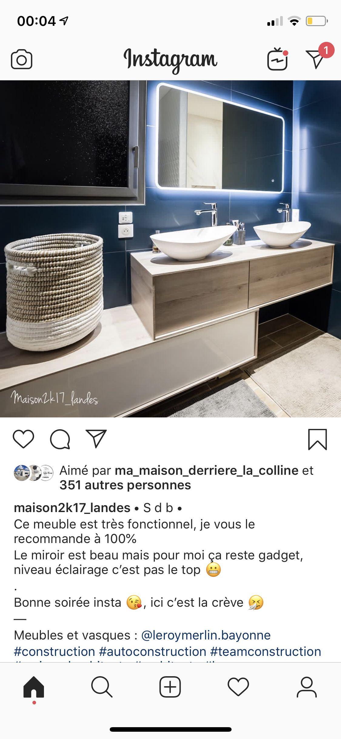 Long Tiroirs Leroy Merlin Sdb Gamme Neo Idees Pour La Maison Mobilier De Salon Meuble