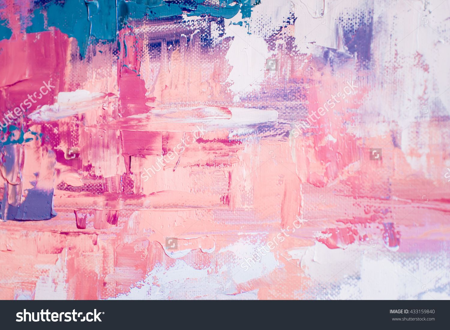 hand drawn oil painting abstract art background oil painting on