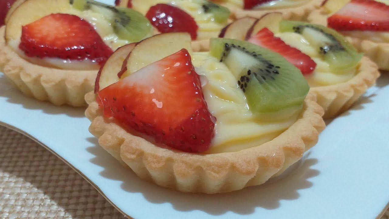 تارتولات بكرام باتسيار خفيفة و عجينة مقرمشة ذوقهم لا يقاوم Tartelettes Aux Fruits Youtube Desserts Food Healthy Dessert
