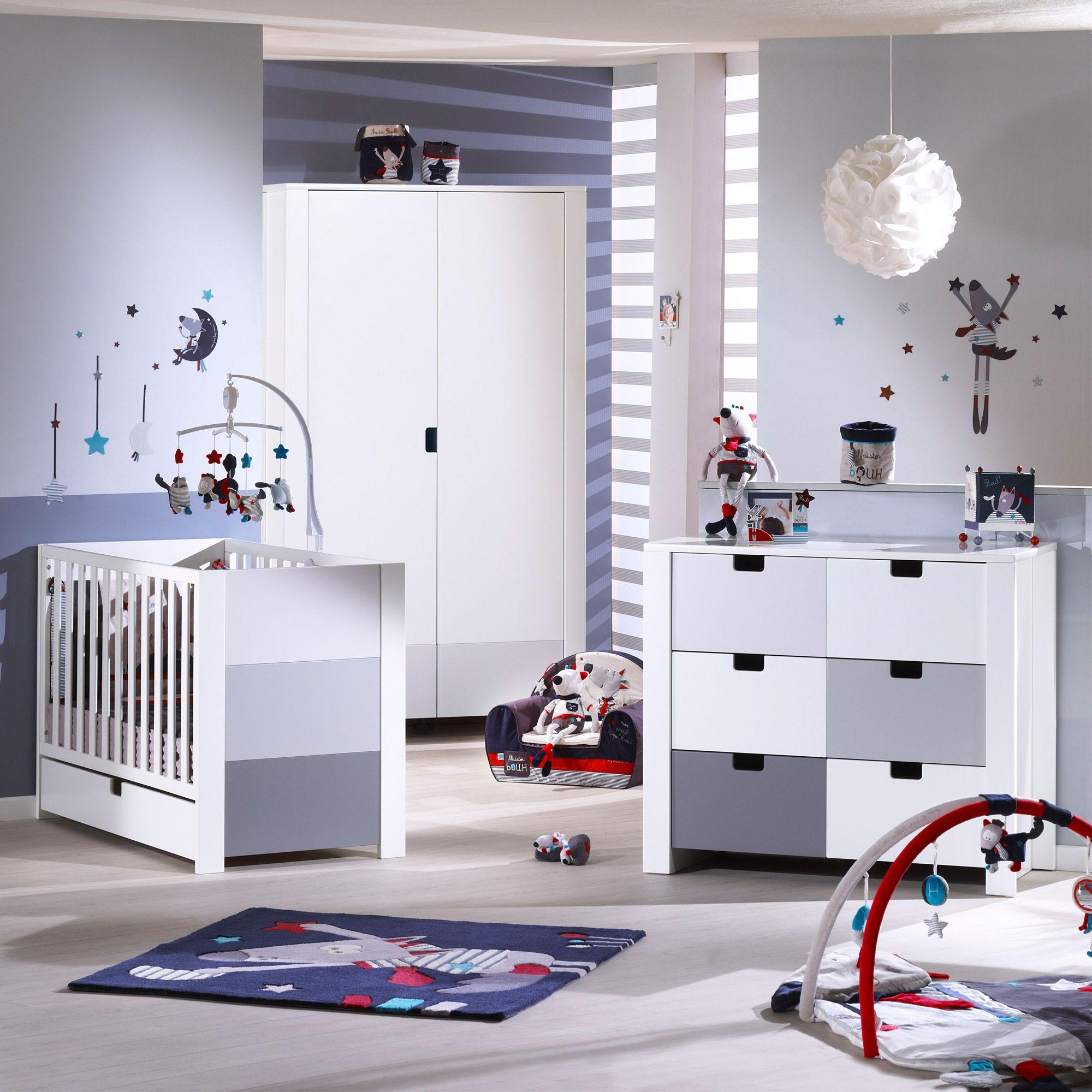 Chambre City, Chambres pop : Aubert | Special Bébé idée déco ...