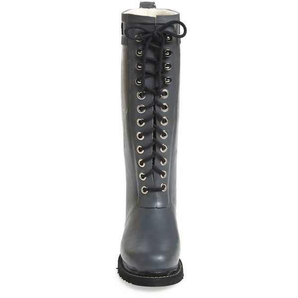 777a28dbce31 Women s Ilse Jacobsen Hornbaek Rubber Boot (131.000 CLP) ❤ liked on  Polyvore featuring shoes