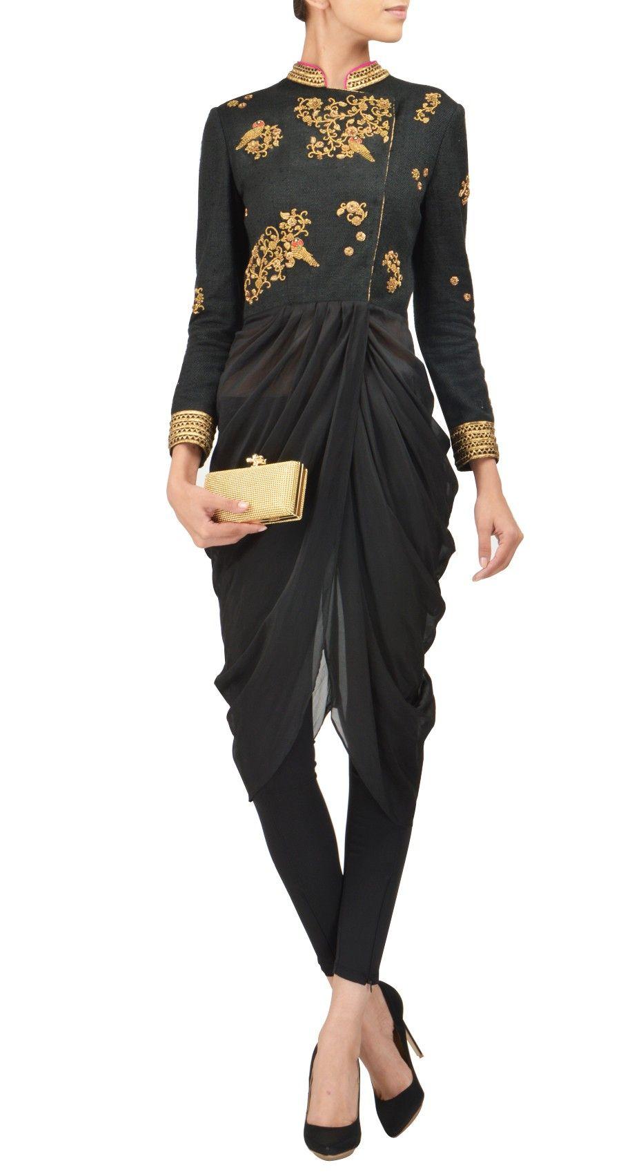 Tisha Saksena; love the top bit....the bottom not so much