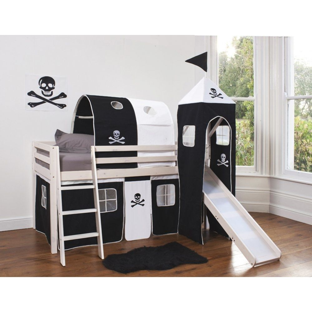 pirate bed with slide bedroom beds bedding