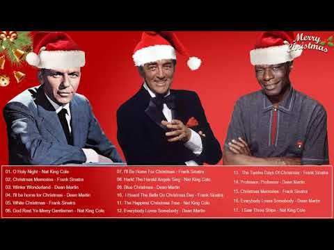 Best Christmas songs of All Time - Nat King Cole, Dean Martin, Frank Sinatra Christmas Songs ...