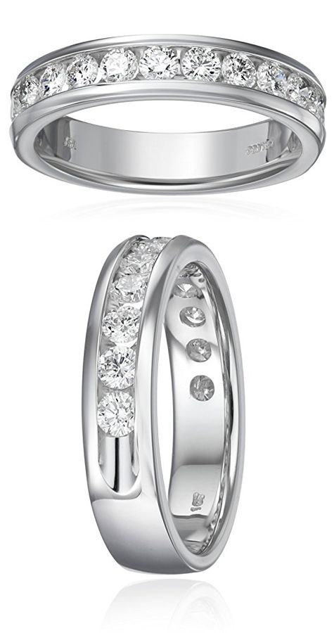 10 Year Anniversary Rings For Her Diamond Anniversary Rings Wedding Ring Diamond Band Anniversary Rings
