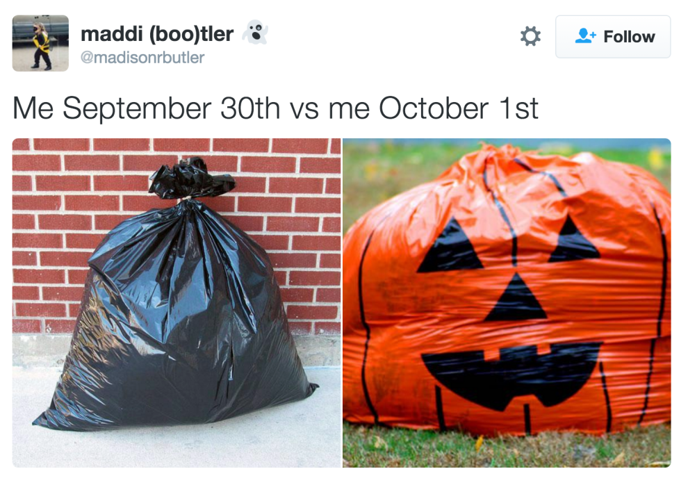 17 Of The Funniest Tweets About September 30th Vs. October