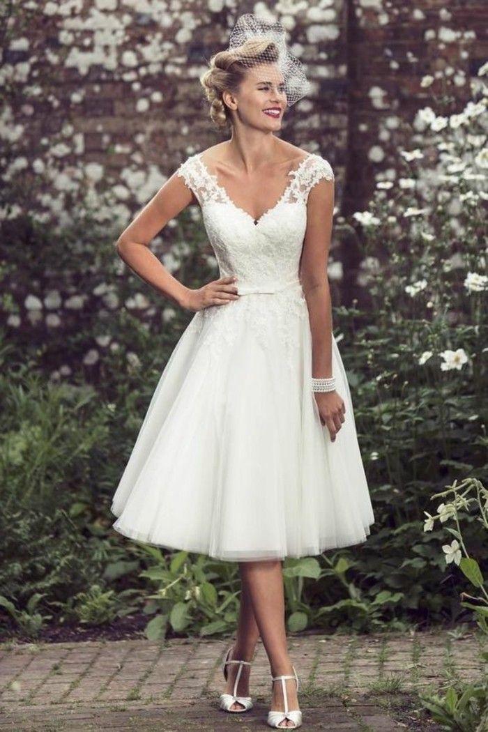 ▷ 1001+ ideas de vestidos de novia cortos y elegantes