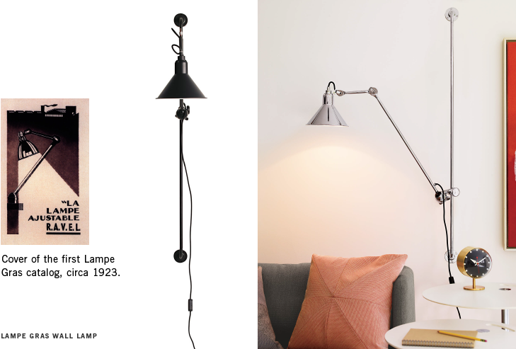Lampe Gras Model 214 Wall Lamp Designed By Bernard Albin