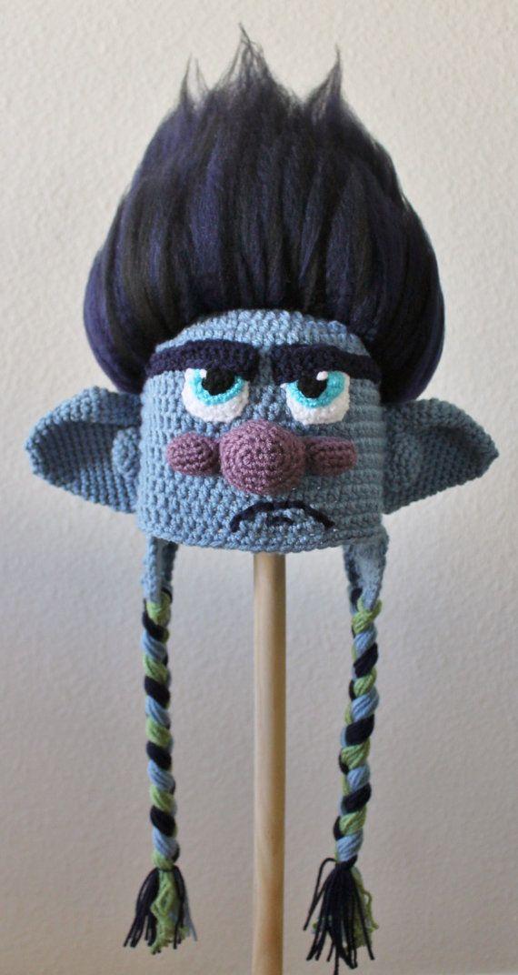 Trolls Movie Branch Crochet Pattern and Tutorial, PDF crochet ...