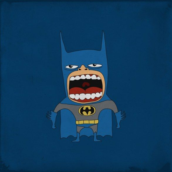 Arghhhhhhhh!!!! SuperEroi Urlanti: da Batman a Wolverine