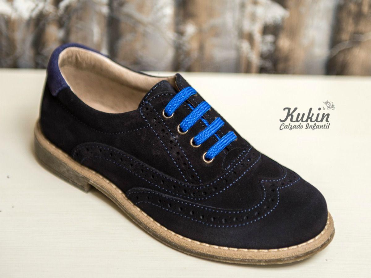 39be04736c3ad zapatos niño vestir online zapatos serraje niño cordones - zapateria  infantil kukin