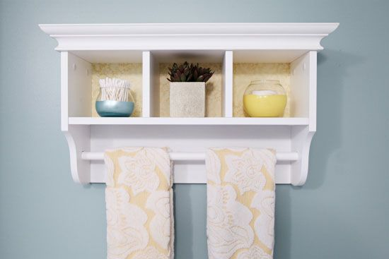 IHeart Organizing: Some Thrifty Bathroom Updates! Love This Versatile U0026  Small Bathroom Shelf With