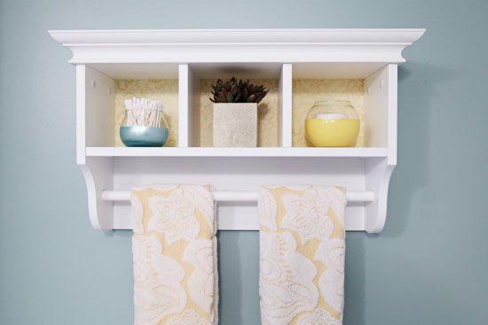 IHeart Organizing: Some Thrifty Bathroom Updates! Love This Versatile U0026  Small Bathroom Shelf With