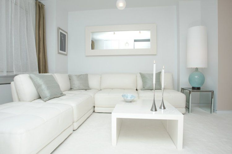 Idee Deco Salon Blanc