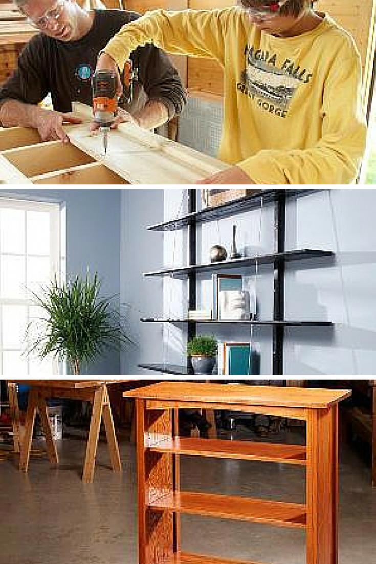 WoodworkingPlansCouch in 2020 Bookshelves diy, Wood