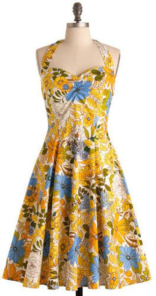 $99 Modcloth, Kitschy Kitchen Dress