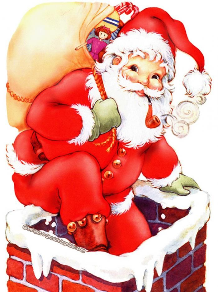 Pin by jeanine potter on christmas and valintines - Image pere noel a imprimer ...