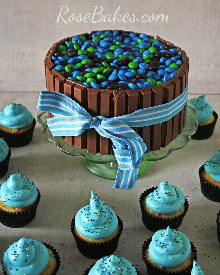 1001 + coole Ideen und Inspirationen für eine leckere Süßigkeiten Torte   Cupcake kuchen ...