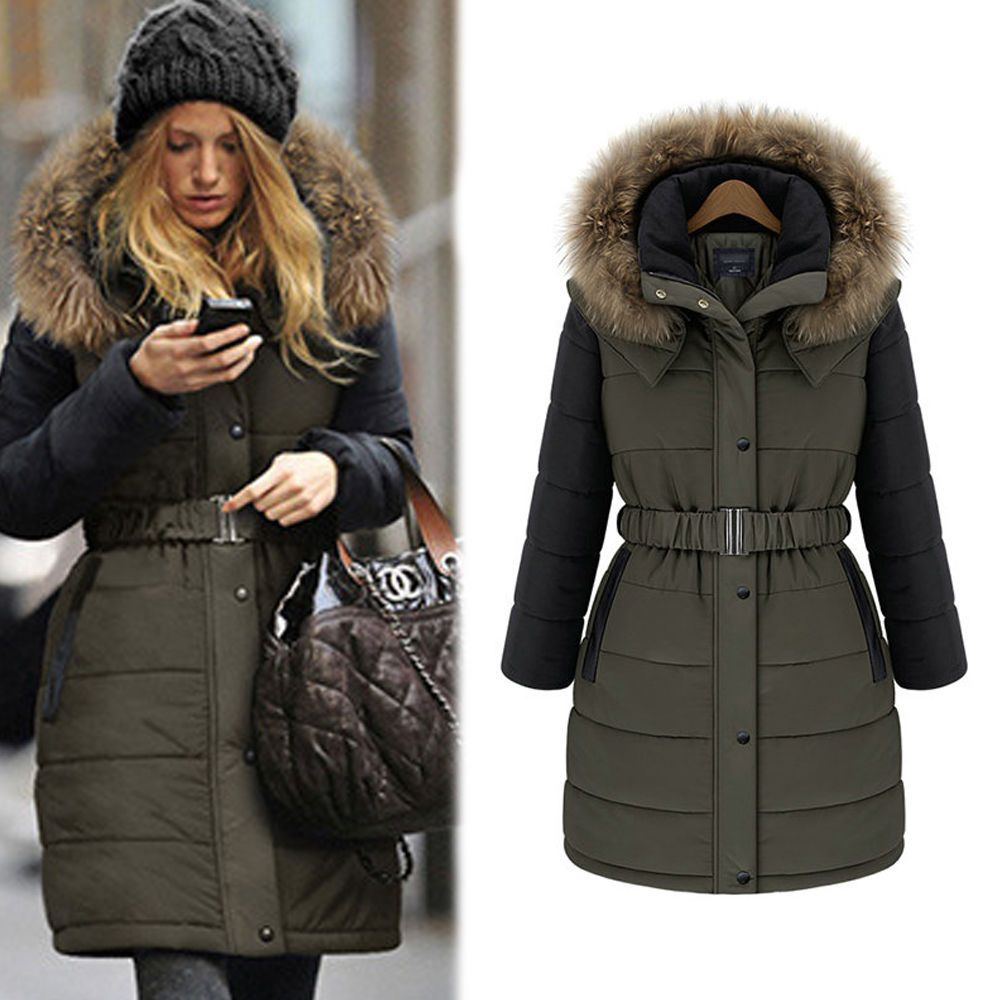 mode d 39 hiver mesdames warm coat manteau veste longue femme manteau pinterest coats sissy. Black Bedroom Furniture Sets. Home Design Ideas