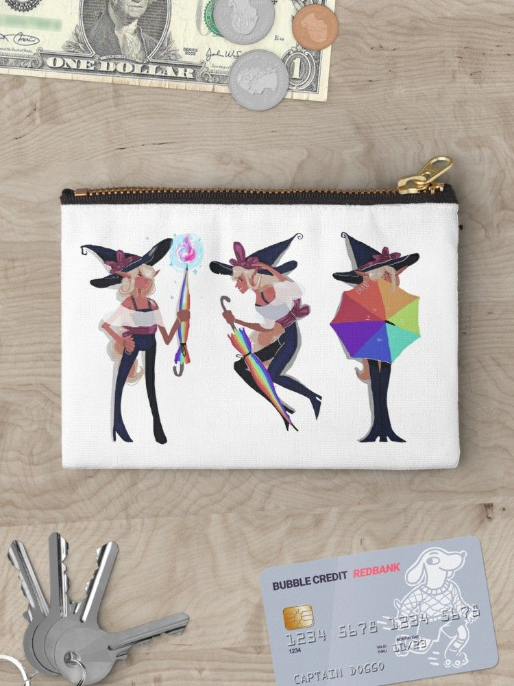 Taako S Pride Zipper Pouch By Kayson Spinazzola In 2020 Zipper Pouch Pouch Gifts For Family