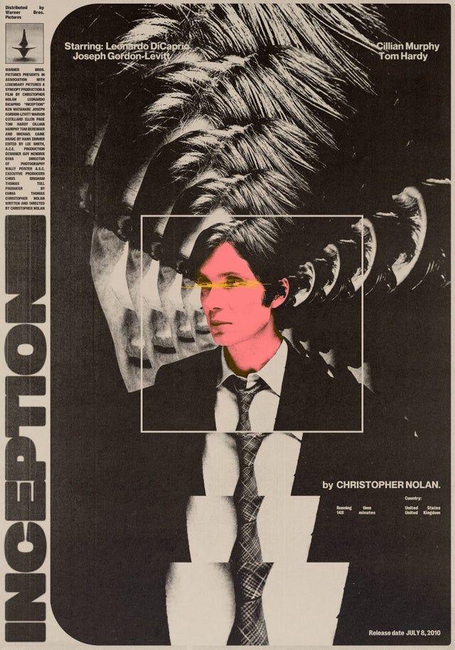 Inception (2010) [1500 × 2143] by Rafa Orrico Díez